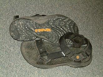 Deckers Outdoor Corporation - A pair of Teva sport sandals