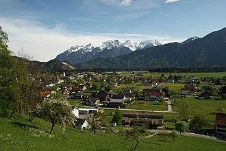 Thüringen, Austria - Image: Thüringen Vorarlberg 1