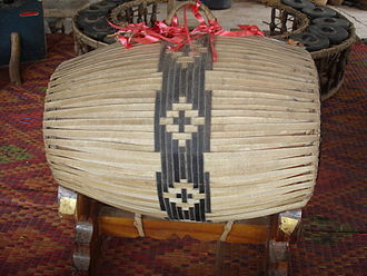 Barrel drum - The taphon, a barrel drum of Thailand