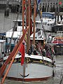 Thames barge parade - in the Pool - Will berthed 6731.JPG
