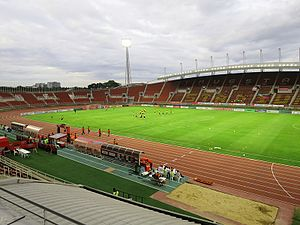 Athletics at the 1998 Asian Games - Image: Thammasat Stadium