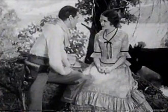 The Virginian (1929 film) - Gary Cooper and Mary Brian