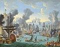 The Battle of Malaga, 13th August 1704 - Willem van der Hagen.jpg