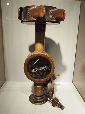 Wind speed - The original anemometer that measured The Big Wind in 1934 at Mount Washington Observatory