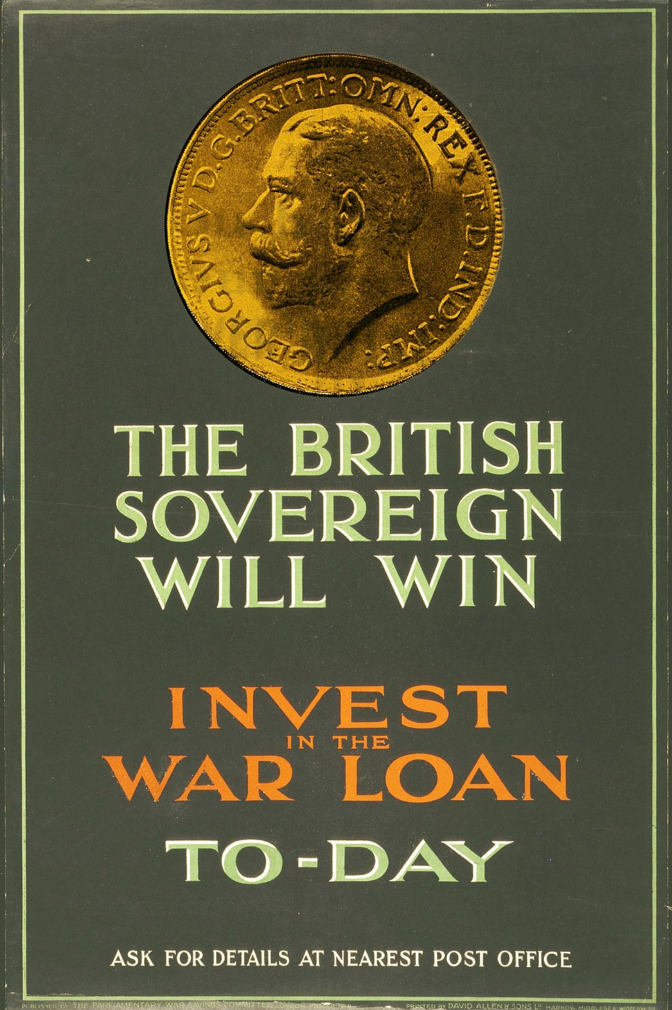 The British Sovereign Will Win