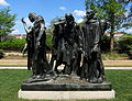 The Burghers of Calais - Hirshhorn Sculpture Garden.JPG