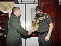 The Chief of Army Staff, General Bikram Singh meeting the Nepal Army Chief, General S.J.B. Rana, at Kathmandu on June 10, 2013.jpg