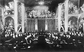 Hague Conventions of 1899 and 1907 - The First Hague Conference in 1899: A meeting in the Orange Hall of Huis ten Bosch palace