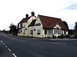Thorpe Willoughby village in the United Kingdom