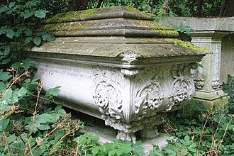 John Jay (builder) - The John Jay sarcophagus, Abney Park Cemetery