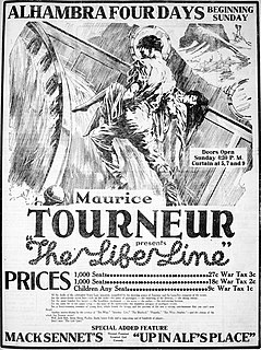 <i>The Life Line</i> 1919 film by Maurice Tourneur