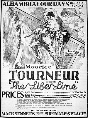 The Life Line - Newspaper advertisement.