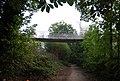 The Millennium Bridge crosses the Medway Valley Walk - geograph.org.uk - 1512677.jpg