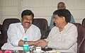 The Minister of State (Independent Charge) for Tourism, Shri K. Chiranjeevi calls on the Union Minister for Civil Aviation, Shri Ajit Singh, in New Delhi on July 23, 2013.jpg