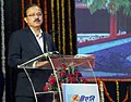 The Minister of State for Defence, Dr. Subhash Ramrao Bhamre addressing the Public Private Partnership (PPP) Summit, under Make-in-India, at Hindustan Aeronautics Limited, Nashik, Maharashtra on December 09, 2017.jpg
