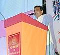 The Minister of State for Human Resource Development, Shri Upendra Kushwaha addressing at the inauguration of the KVS Rashtriya Ekta Shivir-2017, Ek Bharat-Shreshth Bharat, in New Delhi on October 31, 2017.jpg