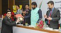 The Minister of State for Social Justice & Empowerment, Shri Ramdas Athawale presented the Achievers' Awards, at a function, in New Delhi on February 06, 2017 (2).jpg