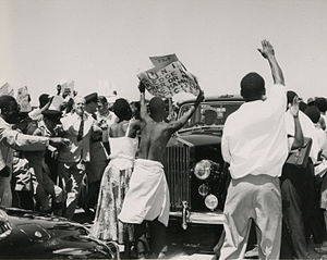 United National Independence Party - Demonstrations by the United National Independence Party (UNIP) during the visit of Iain Macleod (1960)