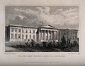 The New John Watson's Hospital, Edinburgh, Scotland. Line en Wellcome V0012624.jpg