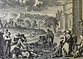 The Phillip Medhurst Picture Torah 327. Murrain in the livestock. Exodus cap 9 vv 1-7. Le Potre.jpg