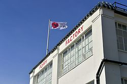 The Poppy Factory's headquarters in Richmond, London.jpg