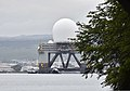 The Sea-based X-Band Radar (SBX) transits the waters of Joint Base Pearl Harbor-Hickam, Hawaii, March 22, 2013 130322-N-RI884-035.jpg