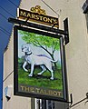 The Talbot pub sign - geograph.org.uk - 1804356.jpg