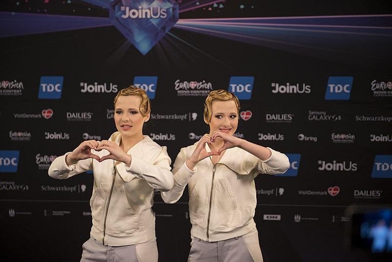 File:The Tolmachevy Sisters, ESC2014 Meet & Greet 23.jpg