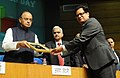The Union Minister for Finance and Corporate Affairs, Shri Arun Jaitley presented the awards, at the foundation day function of the Security Printing Minting Corporation of India Limited (SPMCIL), in New Delhi (3).jpg