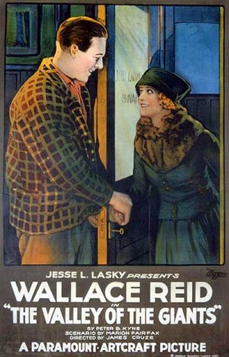 The Valley of the Giants (1919 film) - Lobby poster