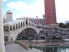 The Rialto Bridge at the Venetian