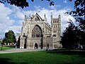 The West Front of the Cathedral in Exeter - geograph.org.uk - 975269.jpg