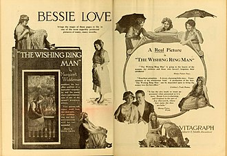 Bessie Love - The Wishing Ring Man (1919)