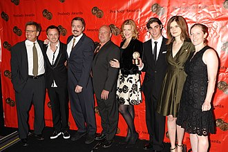 Breaking Bad - The cast and crew of Breaking Bad at the 68th Annual Peabody Awards