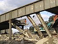 The demolition of the Station Brae Bridge in Galashiels - geograph.org.uk - 279749.jpg
