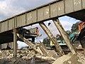The demolition of the Station Brae Bridge in Galashiels - geograph.org.uk - 279749.jpg