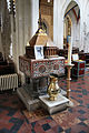 The old font of the Parish Church of Ottery St Mary, Devon (5530330462).jpg