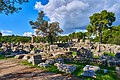 The ruins of the Temple of Zeus (Ancient Olympia) on October 14, 2020.jpg