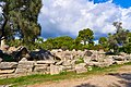 The ruins of the Temple of Zeus (Olympia) on October 14, 2020.jpg