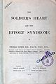The soldier's heart and the effort syndrome Wellcome L0027240.jpg