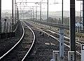 The station and Royal Border Bridge tracks, Berwick-upon-Tweed, Northumbria.jpg