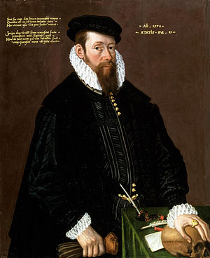 1578 in art - Thomas Pead by Cornelis Ketel