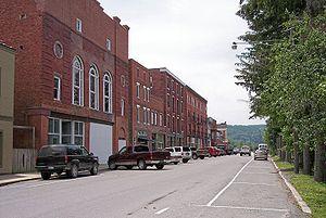 Thomas, West Virginia - East Avenue in Thomas in 2006
