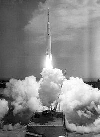 Launch of Ariel 1, April 1962.