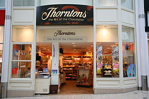 Photo of Thorntons chocolate shop in Banbury, ...