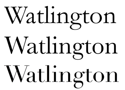The Three Traditional Styles Of Serif Typefaces Used For Body Text Old Style