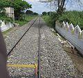 Thudiyalur railway crossing coimbatore 1.jpg