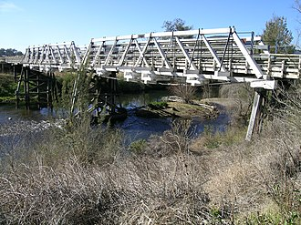 Barrington, New South Wales - The bridge over the Barrington River, Thunderbolts Way, Barrington