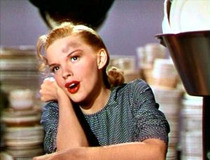 Look for the Silver Lining - Judy Garland as Marilyn Miller performing the song in Till the Clouds Roll By (1946), a biographical film loosely based on the life and work of Jerome Kern