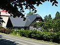 Timbered house, linden trees(roubenka lipová alej) - panoramio.jpg